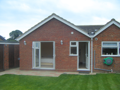 Projects of jonathan w burton architectural design services of dereham norfolk and suffolk - Bungalow extension designs ...