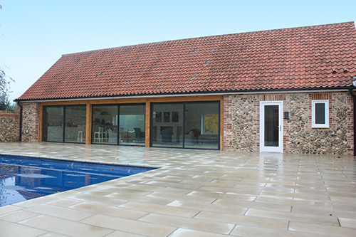 Projects of jonathan w burton architectural design for Pool house design uk